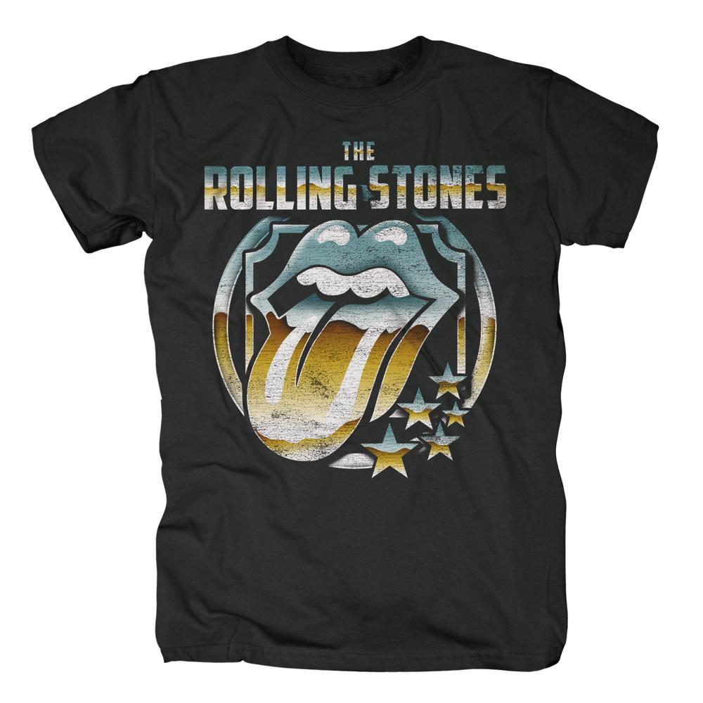 Chrome von The Rolling Stones - T-Shirt jetzt im Rolling Stones Shop