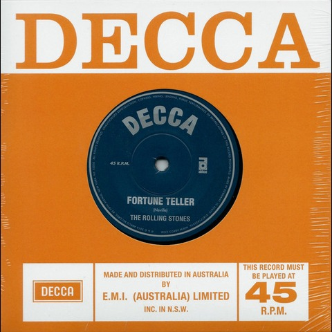 √Fortune Teller / Sad Day (Ltd. 7'' Single) von The Rolling Stones - Vinyl jetzt im Rolling Stones Shop