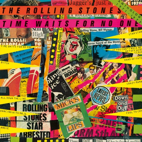 √Time Waits For No One: Anthology 1971-1977 (Japanese SHM-CD) von The Rolling Stones - CD jetzt im Rolling Stones Shop