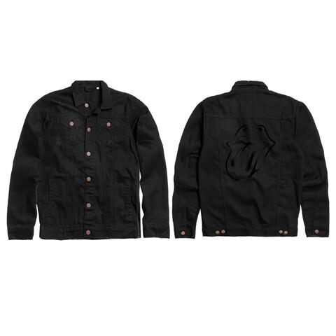 √BLACK ON BLACK von The Rolling Stones - Denim Jacket jetzt im Rolling Stones Shop