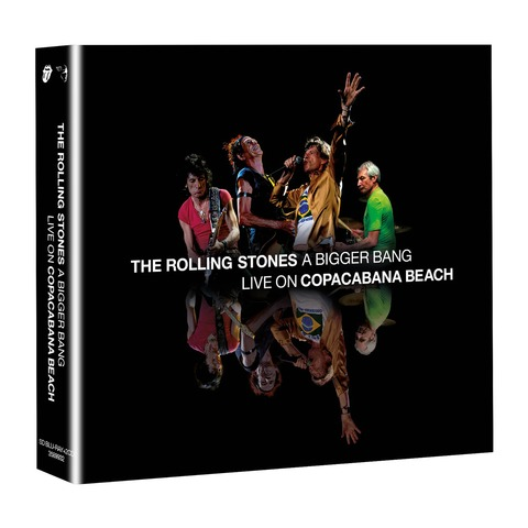 √A Bigger Bang - Live On Copacabana Beach (BluRay + 2CD Audio) von The Rolling Stones - BluRay + 2CD jetzt im Rolling Stones Shop