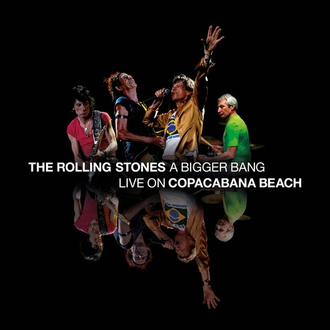 √A Bigger Bang - Live On Copacabana Beach von The Rolling Stones - DVD jetzt im Rolling Stones Shop