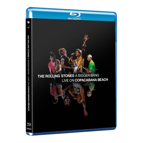 √A Bigger Bang - Live On Copacabana Beach von The Rolling Stones - BluRay jetzt im Rolling Stones Shop