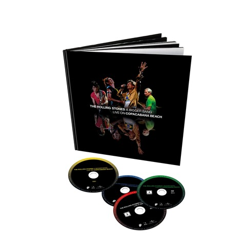 √A Bigger Bang - Live At The Copacabana (4 Disc Set - 2 BluRay + 2CD Audio) von The Rolling Stones - BluRay Boxset jetzt im Rolling Stones Shop