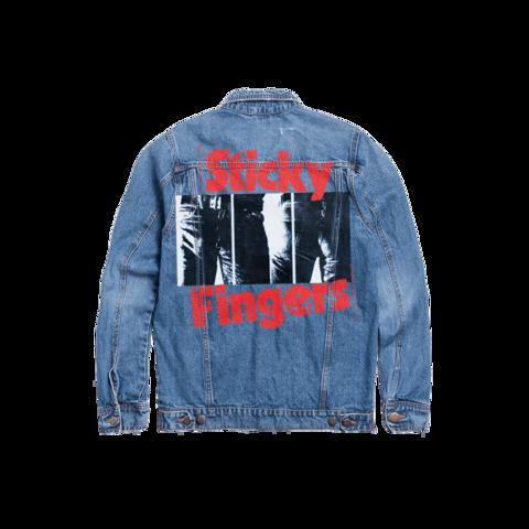 √Sticky Fingers von The Rolling Stones - Denim Jacket jetzt im Rolling Stones Shop