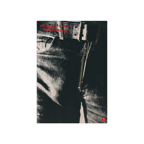 √Sticky Fingers Album Cover von The Rolling Stones - lithograph jetzt im Rolling Stones Shop