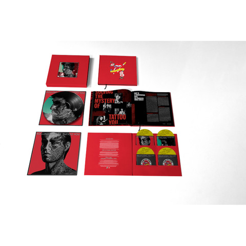 Tattoo You (40th Anniversary Remastered Super Deluxe 4 CD Boxset) by The Rolling Stones -  - shop now at Rolling Stones store