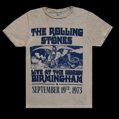 Vintage Birmingham '73 Tour by The Rolling Stones - t-shirt - shop now at Rolling Stones store