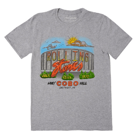 Detroit '72 Tour by The Rolling Stones - t-shirt - shop now at Rolling Stones store