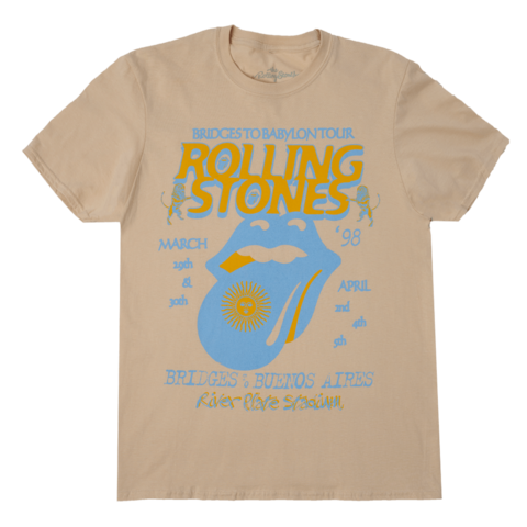 Bridges To Babylon '98 Tour by The Rolling Stones - t-shirt - shop now at Rolling Stones store