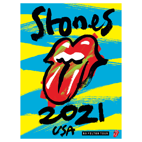 No Filter 2021 by The Rolling Stones - lithograph - shop now at Rolling Stones store