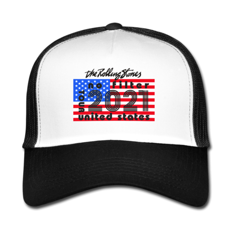 No Filter 2021 Classic Licks by The Rolling Stones - Trucker Hat - shop now at Rolling Stones store