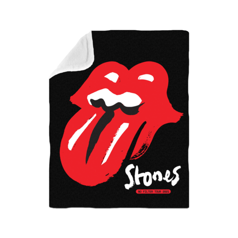 No Filter 2021 Classic Licks by The Rolling Stones - Blanket - shop now at Rolling Stones store