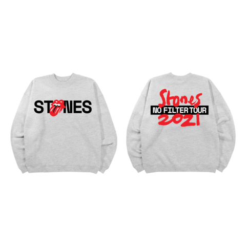 No Filter 2021 by The Rolling Stones - crewneck - shop now at Rolling Stones store