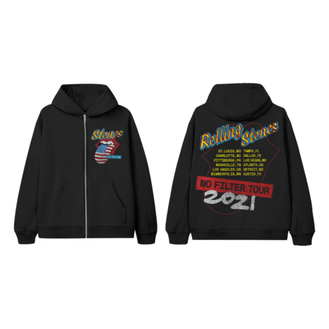 No Filter 2021 Parking Lot by The Rolling Stones - Hooded jacket - shop now at Rolling Stones store