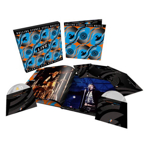√Steel Wheels Live (Limited Edition 6-disc Collector's Set) von The Rolling Stones - Box set jetzt im Rolling Stones Shop