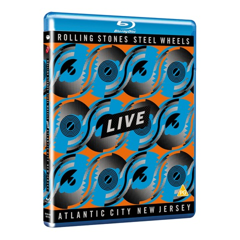 √Steel Wheels Live (BD50 SD blu-ray) von The Rolling Stones - BluRay jetzt im Rolling Stones Shop