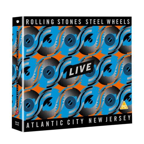 √Steel Wheels Live (DVD9 + 2CD) von The Rolling Stones - DVD-Bundle jetzt im Rolling Stones Shop