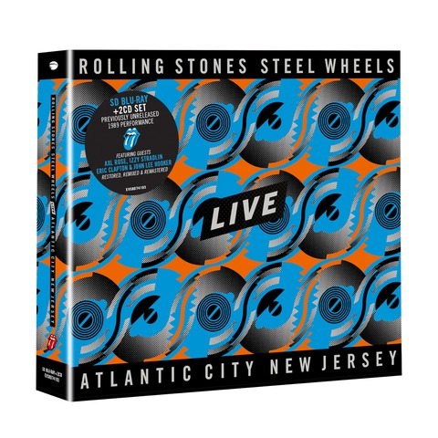 √Steel Wheels Live (BD50 SD blu-ray + 2CD) von The Rolling Stones - BluRay-Bundle jetzt im Rolling Stones Shop