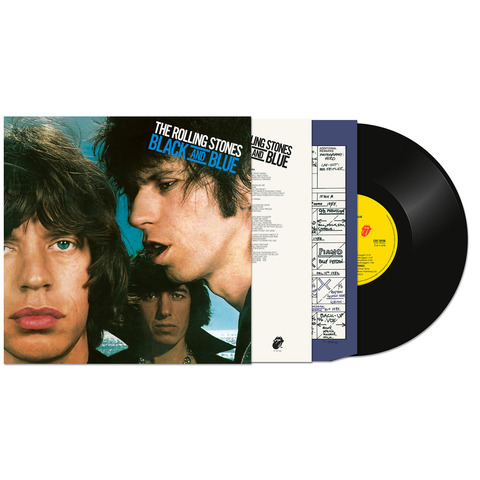 √Black And Blue (Half Speed Masters LP Re-Issue) von The Rolling Stones -  jetzt im Rolling Stones Shop