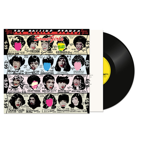 √Some Girls (Half Speed Master LP Re-Issue) von The Rolling Stones - LP jetzt im Rolling Stones Shop