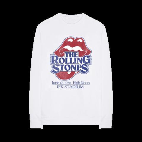 √Vintage JFK Stadium von The Rolling Stones - Crewneck Sweater jetzt im Rolling Stones Shop
