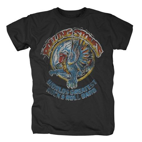 √Vintage Dragon von The Rolling Stones - T-Shirt jetzt im Rolling Stones Shop