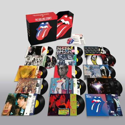 The Rolling Stones: Studio Albums Vinyl Collection 1971 - 2016 von The Rolling Stones - LP jetzt im Rolling Stones Shop