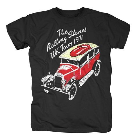 √UK Tour 1971 von The Rolling Stones - T-Shirt jetzt im Rolling Stones Shop