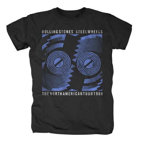 √Steel Wheels Tour 1989 von The Rolling Stones - T-Shirt jetzt im Rolling Stones Shop