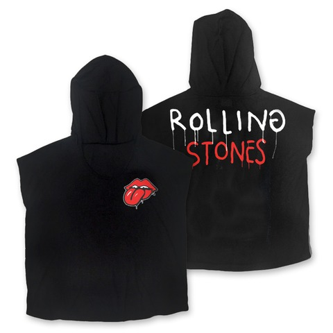 √Trevor Andrew x Rolling Stones von The Rolling Stones - Girlie Kapuzentop jetzt im Rolling Stones Shop