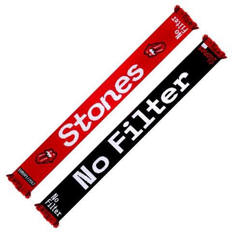 √No Filter von The Rolling Stones - Fanschal jetzt im Rolling Stones Shop
