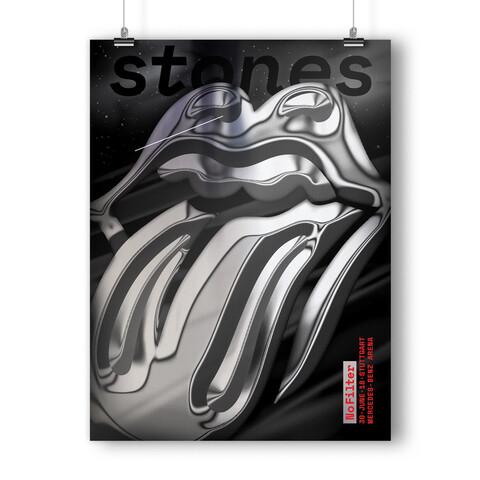 √No Filter 2018 Stuttgart von The Rolling Stones - Kunstdruck jetzt im Rolling Stones Shop