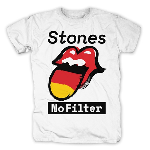 √No Filter Germany von The Rolling Stones - T-Shirt jetzt im Rolling Stones Shop