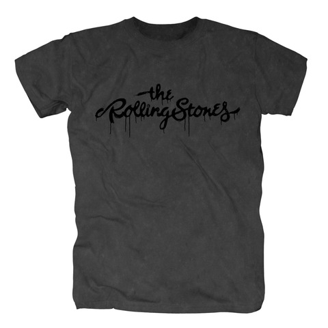 √Black Logo von The Rolling Stones - T-Shirt jetzt im Rolling Stones Shop