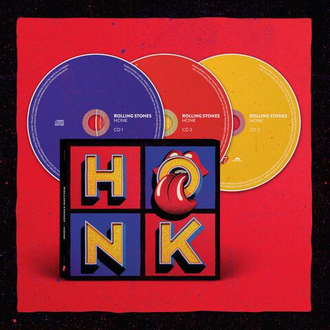 √Honk (3CD) von The Rolling Stones - CD jetzt im Rolling Stones Shop