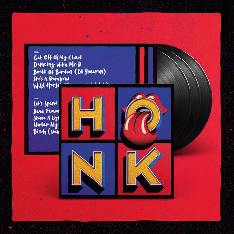 Honk (3LP) von The Rolling Stones - LP jetzt im Rolling Stones Shop