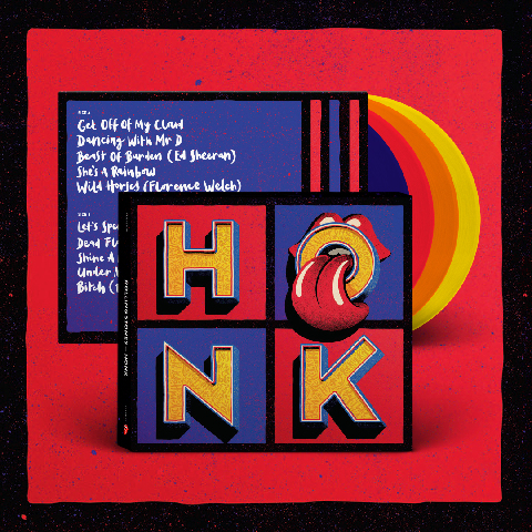 Honk (Excl. Coloured 4LP) von The Rolling Stones - LP jetzt im Rolling Stones Shop