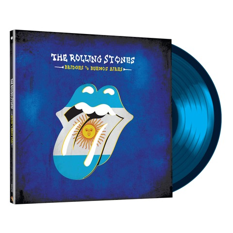 Bridges To Buenos Aires (3LP Ltd. Edition Translucent Blue) von The Rolling Stones - LP jetzt im Rolling Stones Shop