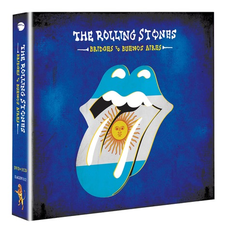 √Bridges To Buenos Aires (DVD+2CD) von The Rolling Stones -  jetzt im Rolling Stones Shop