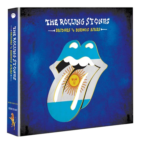 √Bridges To Buenos Aires (BluRay + 2 CD) von The Rolling Stones - BluRay + 2 CD jetzt im Rolling Stones Shop